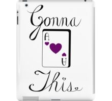 Gonna Ace This (hearts) iPad Case/Skin
