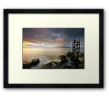 Solway Sunset Framed Print