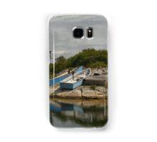 Boats Ashore Peggys Cove Nova Scotia Samsung Galaxy Case/Skin