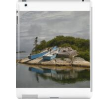 Boats Ashore Peggys Cove Nova Scotia iPad Case/Skin