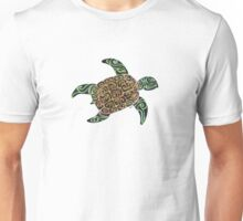 Squiggle Turtle Unisex T-Shirt