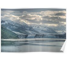 what is left of College Fiord Glacier Poster