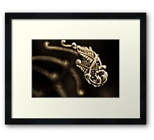 Impression in the backyard...: On featured: The-power-of-simplicity Group Framed Print