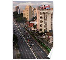 Sao Paulo Poster