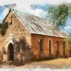 Old Church at Gooloogong NSW by geoffgrattan