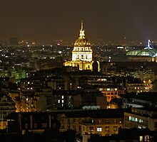Paris-View from my apartment (2)- Les Invalides by Goca