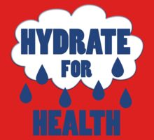 hydrate for health One Piece - Short Sleeve