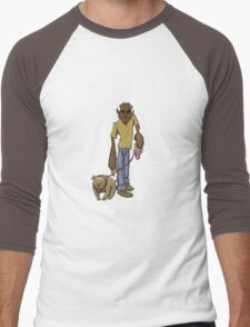 Wolfman Walking Dog T-Shirt