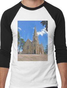 Uniting Church, Ross, Tasmania Men's Baseball ¾ T-Shirt