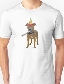 Pit Bull Birthday Unisex T-Shirt