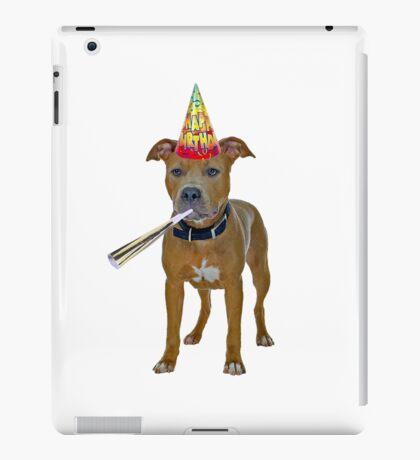 Pit Bull Birthday iPad Case/Skin