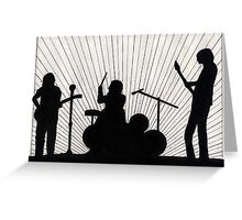 127 - ROCK BAND - DAVE EDWARDS - INK - 1986 Greeting Card