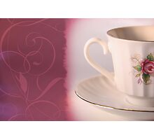 Espresso cup Photographic Print