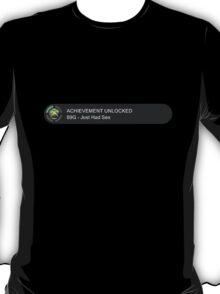 Achievement Unlocked 2: 69G - Just Had Sex T-Shirt