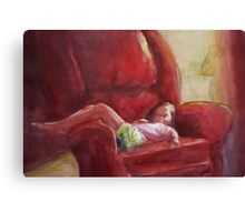 Lydia in Repose Canvas Print