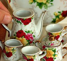 Come for Tea.............. fit for a queen... by Larry Llewellyn