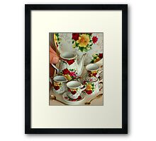 Come for Tea.............. fit for a queen... Framed Print