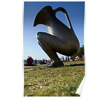 "Standing Ewer - Cottesloe ""Sculptures by the Sea"" Poster"