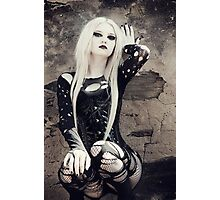 Gothic Pose Photographic Print
