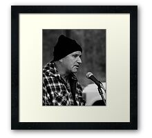 The Bush Poet - Peter Peck - MarkyStock2011 Framed Print