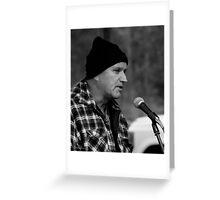 The Bush Poet - Peter Peck - MarkyStock2011 Greeting Card