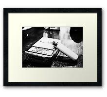 Smoking can kill -1- Framed Print
