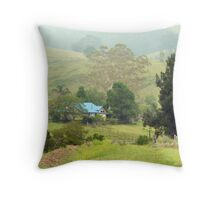 Home, Krambach.  NSW.  Australia Throw Pillow