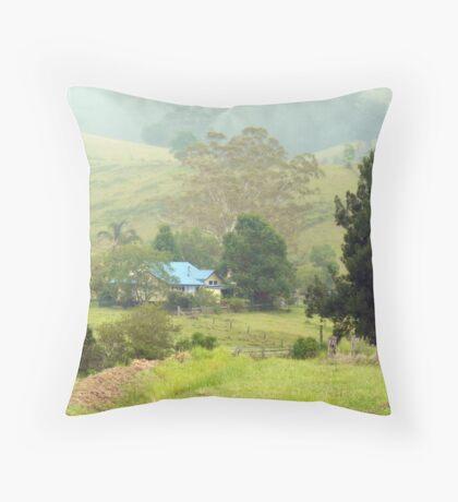 Home, Krambach.  NSW.  Australia Throw Pillow