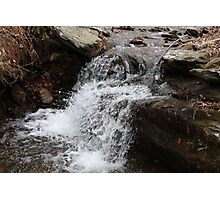 Cold Spring Mini Water Fall Photographic Print