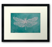 BRCA Dragon Fly  Framed Print