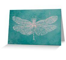BRCA Dragon Fly  Greeting Card