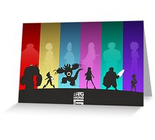 The Big Hero 6 Greeting Card