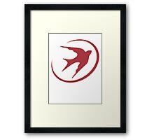 The Yokai Dove (Big Hero 6) Framed Print