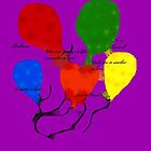 Love Travels as  a Balloon With Swiftness... by Nora Caswell