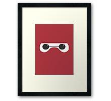 Baymax Eyes Framed Print