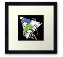 Makin' Mischief Framed Print