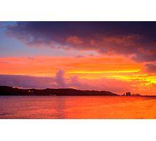 Lisbon sunset Photographic Print
