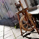 Spinning Wheel by HeatherMScholl
