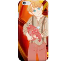 put it in the the oven for Baby ( smaug ) and me iPhone Case/Skin