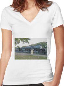 Cheyenne's Big Boy Women's Fitted V-Neck T-Shirt