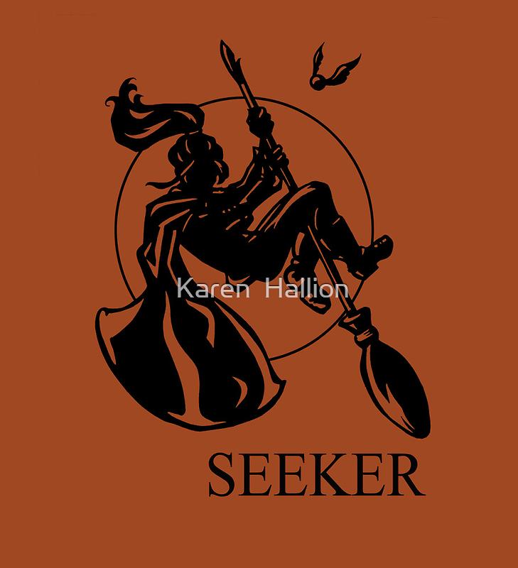 Seeker Print by Karen  Hallion