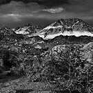 Bishop Range, Eastern Sierra by Chris Morrison