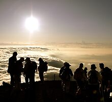 Aug. 4th, 2009 - Birthday Sunrise on Mount Fuji by Valerie Rosen