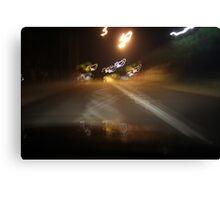 driving on acid Canvas Print