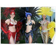 *•.¸♥♥¸.•* .(。◕‿◕。) Viva Las Vegas Performers Gotta Luv those Costumes*•.¸♥♥¸.•* .(。◕‿◕。) Poster