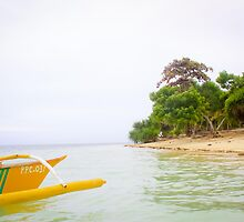 Getting there - Pandan Island, Puerto Princesa, Palawan by Michael  Habal