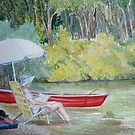 By The River by Sally Sargent