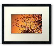 Sun Rise at Sylhet -1 Framed Print