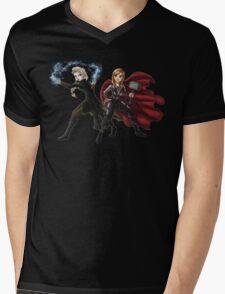 Thunder and Frost Mens V-Neck T-Shirt