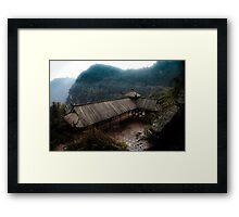 bamboo sea .. Framed Print